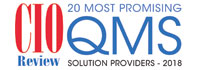 Top 20 QMS Solution Companies - 2018